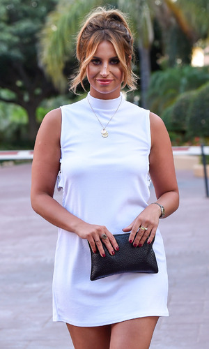 TOWIE's Ferne Mccann heads out for dinner at Olivias La Cala - 23 September 2015.