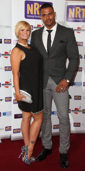 Kerry Katona and George Kay at the National Reality TV Awards 30 September