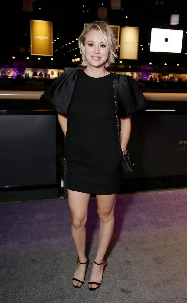 Kaley Cuoco at the Longines Master Gala in lOS aNGELES 2ND oCTOBER 2015