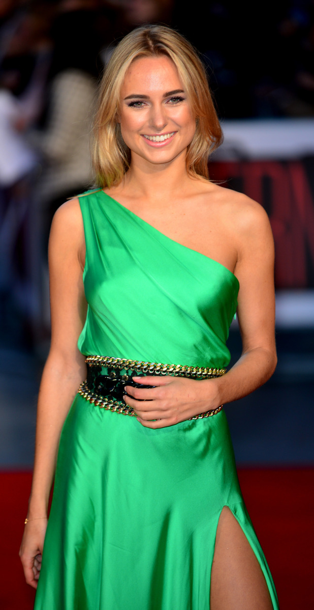 Former Made in Chelsea star Kimberley Garner at The Intern Premiere in London, 28th September 2015