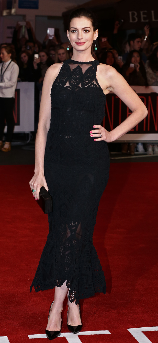 Anne Hathaway at The Intern Premiere in London, 28th September 2015