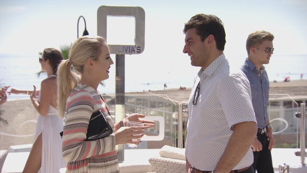 James 'Arg' Argent reunited with Lydia Bright on TOWIE, 4 October 2015
