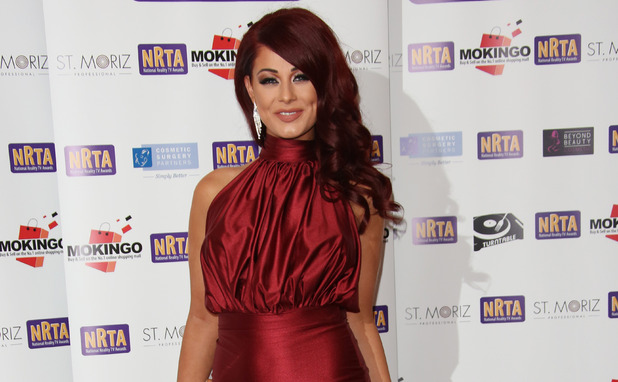 Jess Hayes attends National Reality TV Awards, London 30 September