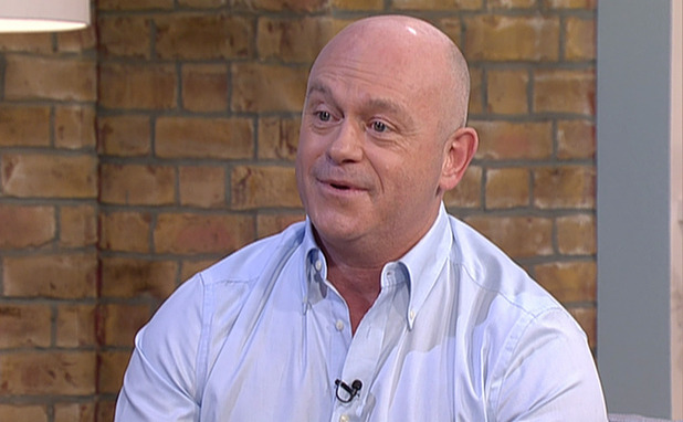Ross Kemp appears on 'This Morning', to talk about his new series of 'Extreme World' on Sky1. Shown on ITV1 HD. 21 January 2015.