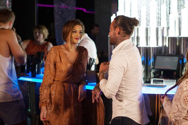 The Only Way is Essex's Jess and Pete at the Cavalli Club, Marbella, Spain - 25 Sep 2015