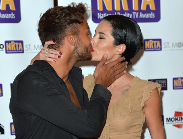 Jasmine Lennard and Cristian MJC kiss at National Reality TV Awards 30 September