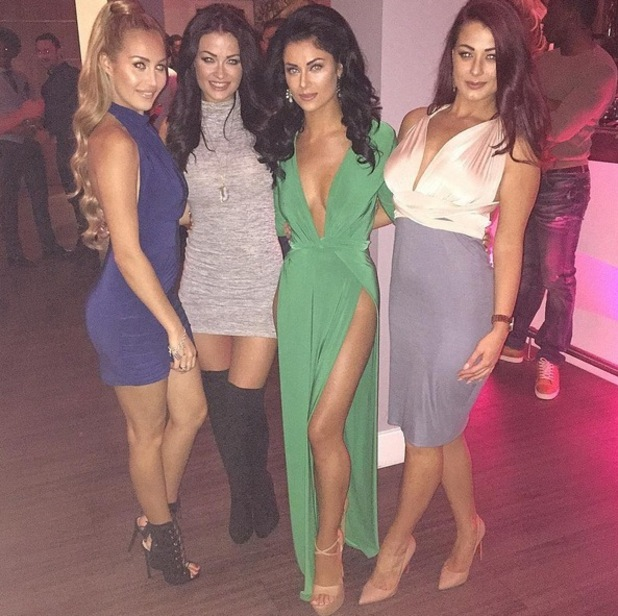 Cally Jane Beech, Jess Hayes, Jess Impiazzi and Chloe Goodman 26 September