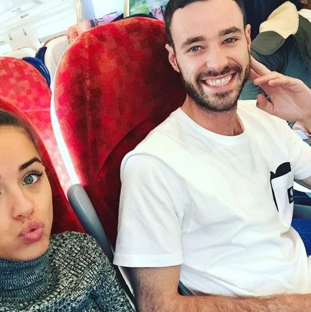 Georgia May Foote and boyfriend Sean Ward 29 September