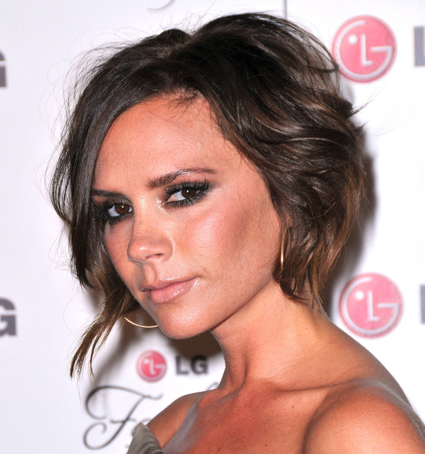 Victoria Beckham, at A Night Of Fashion & Technology With LG Mobile Phones hosted by Victoria Beckham and Eva Longoria at Soho House. West Hollywood, 24 May 2010