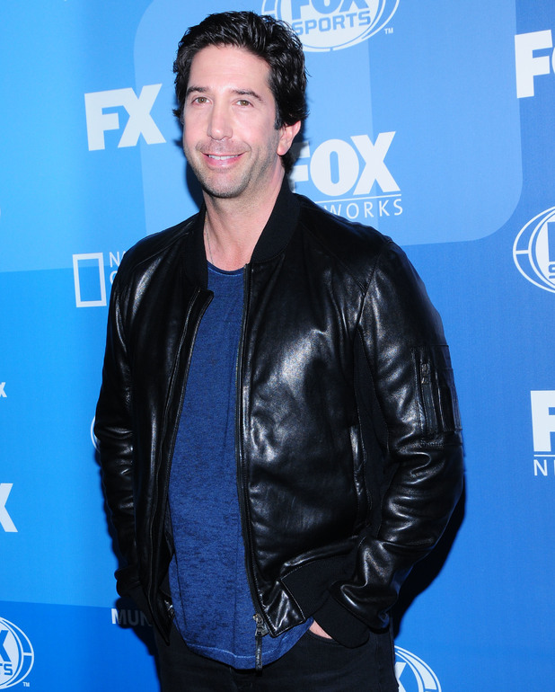 David Schwimmer at the Fox Upfront Presentation 2015 - 11 May 2015.