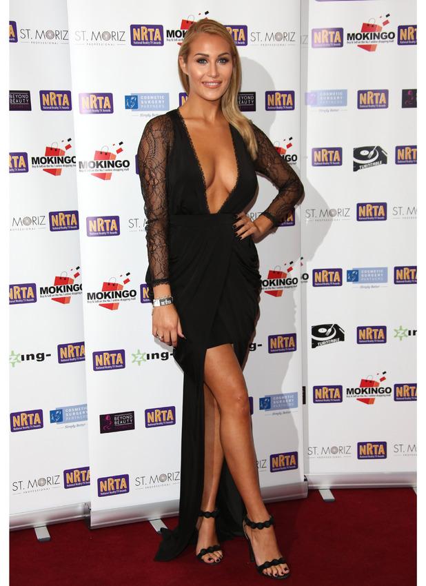 Chloe Goodman at the National Reality TV Awards 1st October 2015