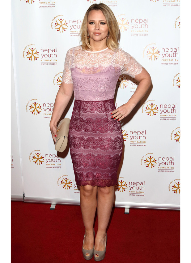 Kimberley Walsh at the Nepal Youth Foundation VIP Fundraiser in London, 2nd Otober 2015