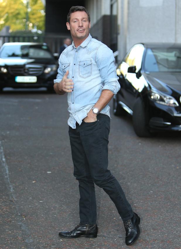 Dean Gaffney outside the ITV Studios - 1 October 2015.