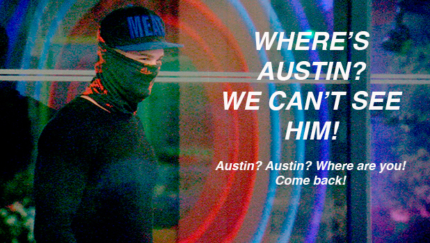 CBB Day 21: Austin is invisible