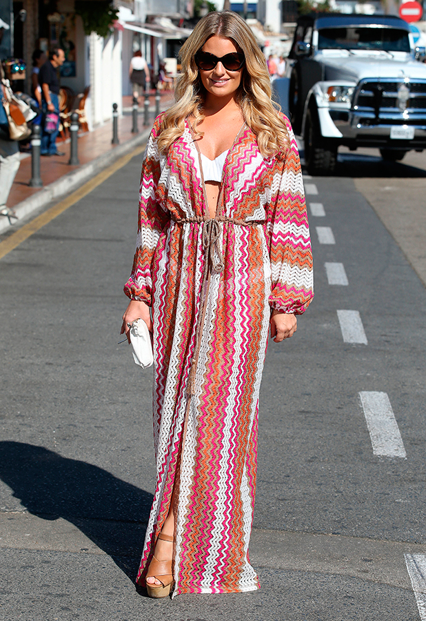 'The Only Way is Essex' cast in Marbella, Spain - 27 Sep 2015 Danielle Armstrong