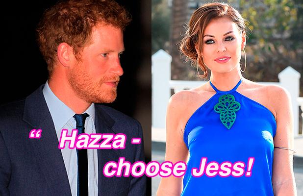 Bobby's column: Jess Wright and Prince Harry
