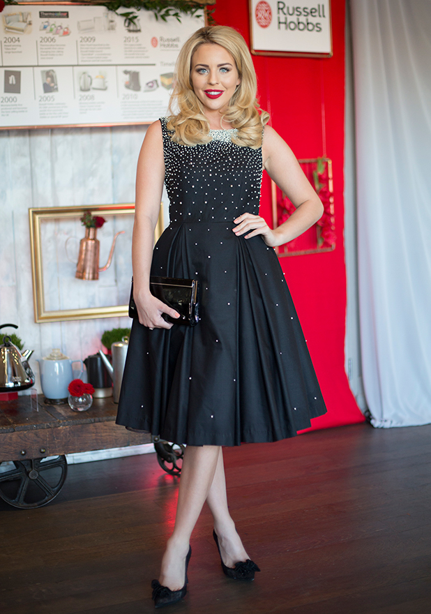 TOWIE stars Lydia Bright and Jessica Wright attending a celebrity bash taking place in central London to celebrate 60 years of the kettle, with household name, Russell Hobbs