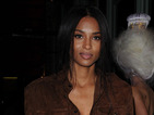 Ciara looks smoking hot in suede at restaurant opening in London!