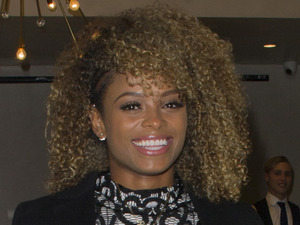 Fleur East is oh-so-sophisticated in lace co-ords from own collection!