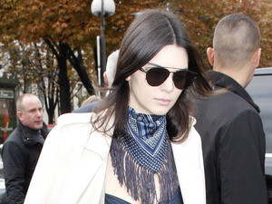 Kendall Jenner does off duty cool after wowing on the Chanel catwalk!