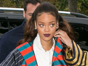 Rihanna out and about in France after Paris Fashion Week, 4th October 2015