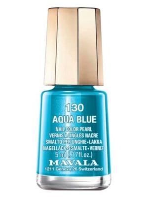 Mavala Nail Polish in Aqua Blue