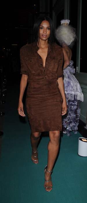 Ciara at the Sexy Fish restaurant opening in Mayfair, 9th October 2015