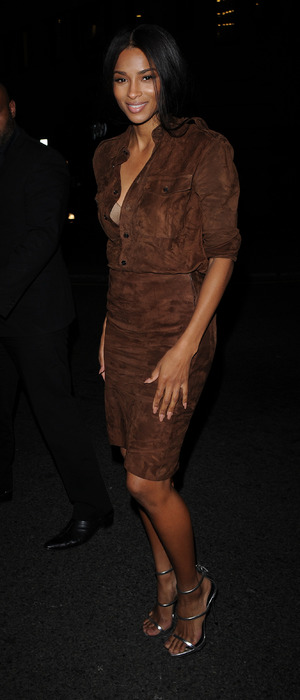 Ciara at the Sexy Fish restaurant opening in London's Mayfair, 9th October 2015