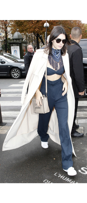 Kendall Jenner out and about in Paris, 6th October 2015