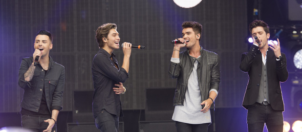 Union J perform at Fusion Festival 30 August