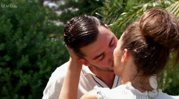 Jordan Sargeant and Josh Ortega kiss on Life On Marbs - 7 October 2015.