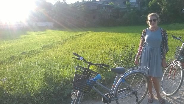 Cycling in Hsipaw, Myanmar. 5/10/15