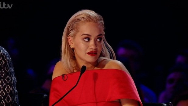 Rita Ora, X Factor Six Chair Challenge 4 October