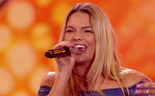 Louisa Johnson, X Factor Six Chair Challenge 4 October