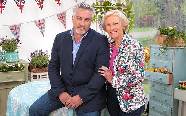 Mary Berry and Paul Hollywood - GBBO