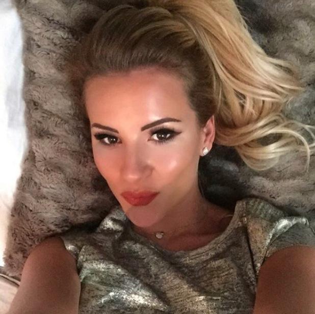 Georgia Kousoulou shares selfie to Instagram 8th October 2015