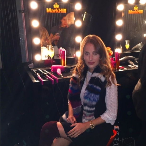 Rosie Fortescue at Mark Hill Hair Launch in London, W Hotel 7th October 2015