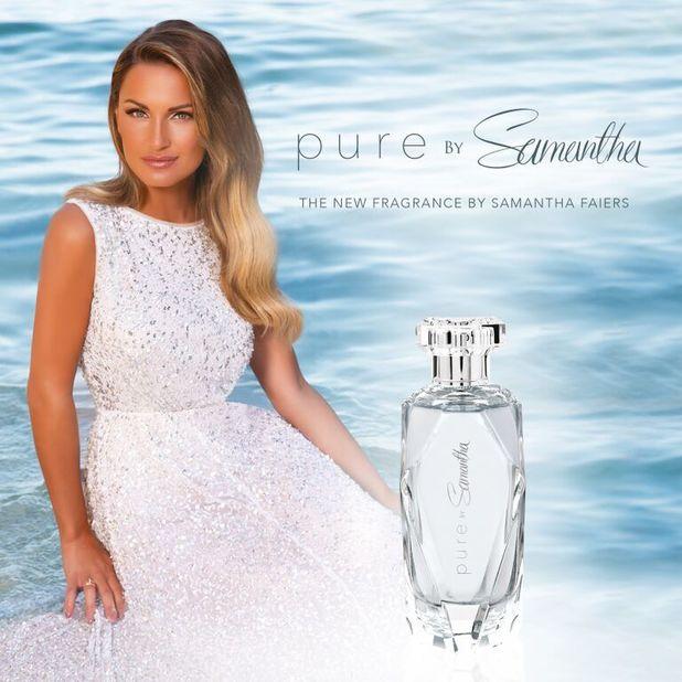 Sam Faiers' perfume Pure