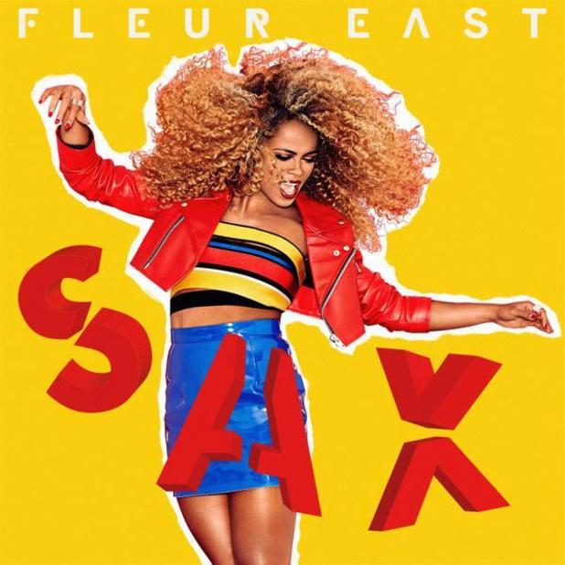 Fleur East new single artwork for 'Sax' - October 2015.