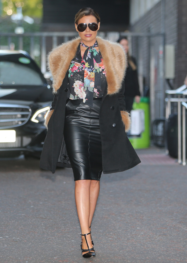 TOWIE's Jessica Wright outside the ITV Studios - 9 October 2015.