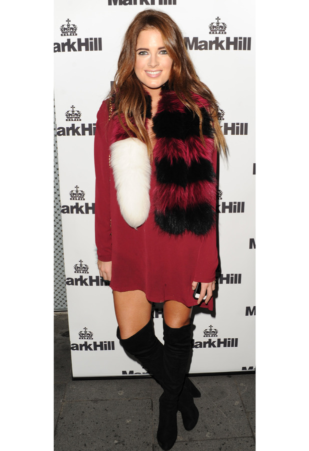 Made in Chelsea's Binky Felstead at the Mark Hill Hair launch in London, 7th October 2015