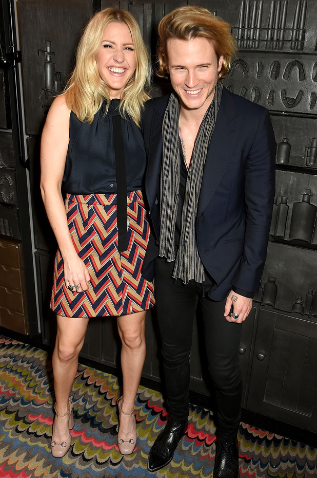 Ellie Goulding and Dougie Poynter attend the Chime For Change event in London, Wednesday 7th October 2015