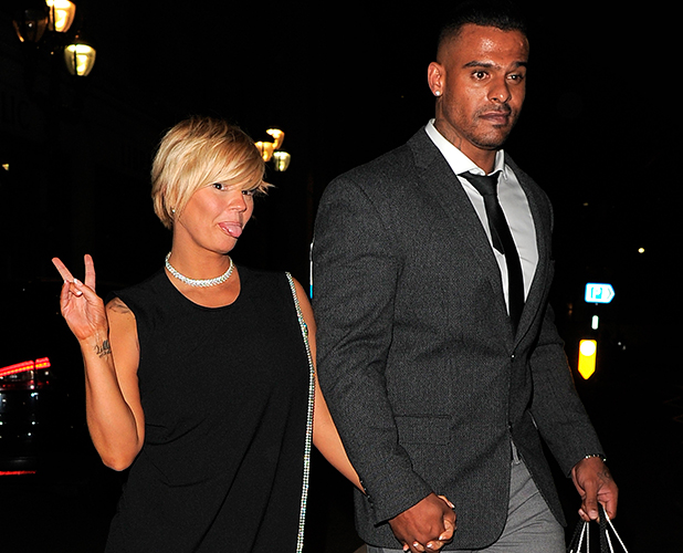 National Reality TV Awards at Porchester Hall Kerry Katona and George Kay