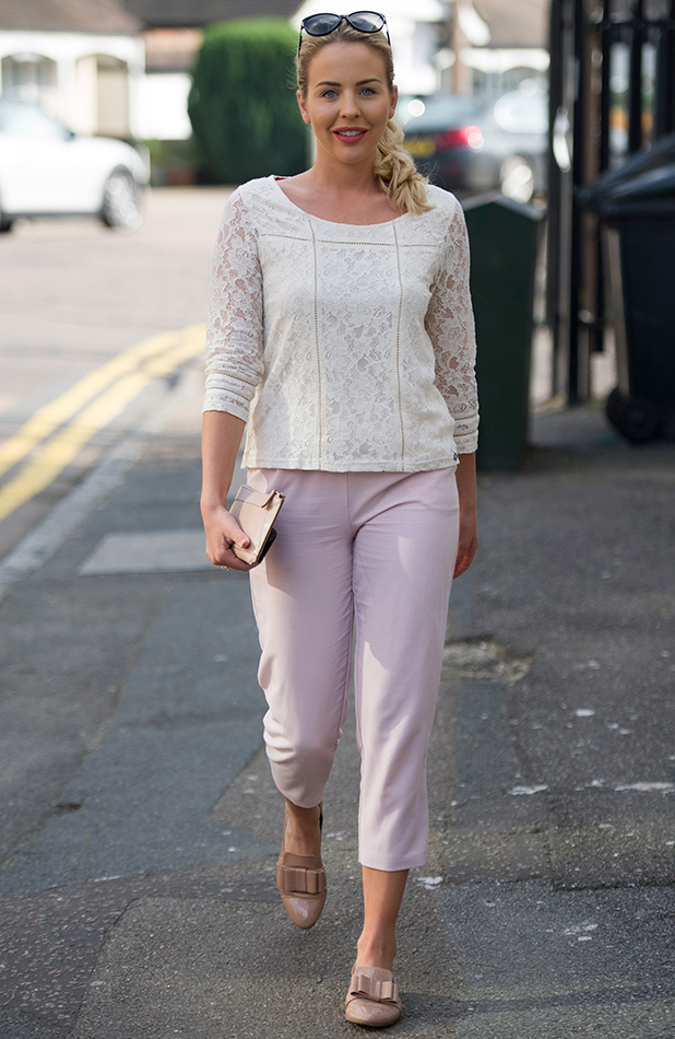 Lydia Bright out and about, Essex, Britain - 03 Oct 2015