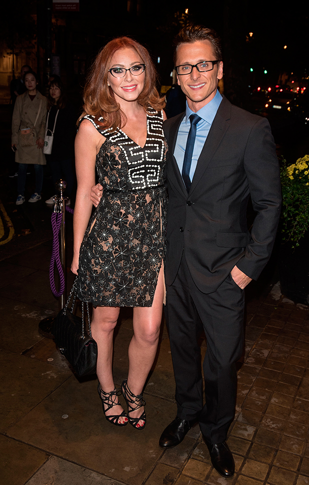 Specsavers' Spectacle Wearer of the Year held at 8 Northumberland Avenue. Natasha Hamilton and Ritchie Neville