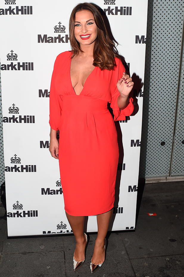 Mark Hill Hair launch event at the W London Leicester Square Sam Faiers