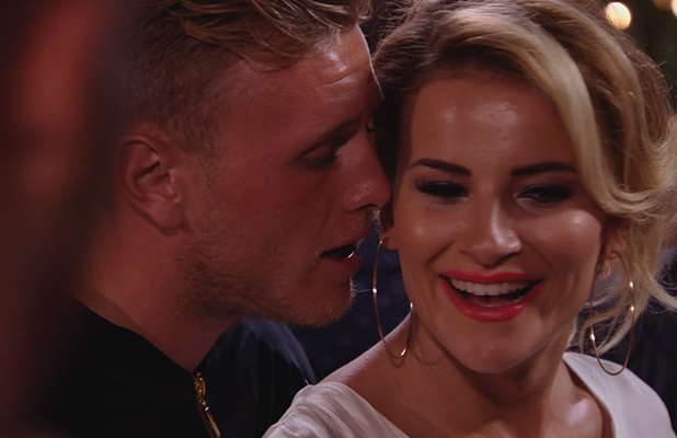 TOWIE episode to air Wed 7 Oct 2015 Tommy and Georgia celebrate anniversary