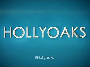 Hollyoaks logo - title image. October 2015.