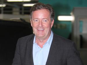 Piers Morgan outside ITV Studios - 5 October 2015.