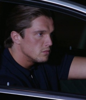 Lewis Bloor stare off with Michael Hassini 11 October